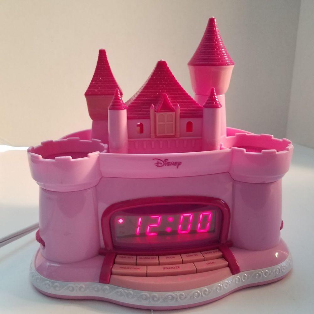 Pink Castle Princess Am Fm Clock Radio