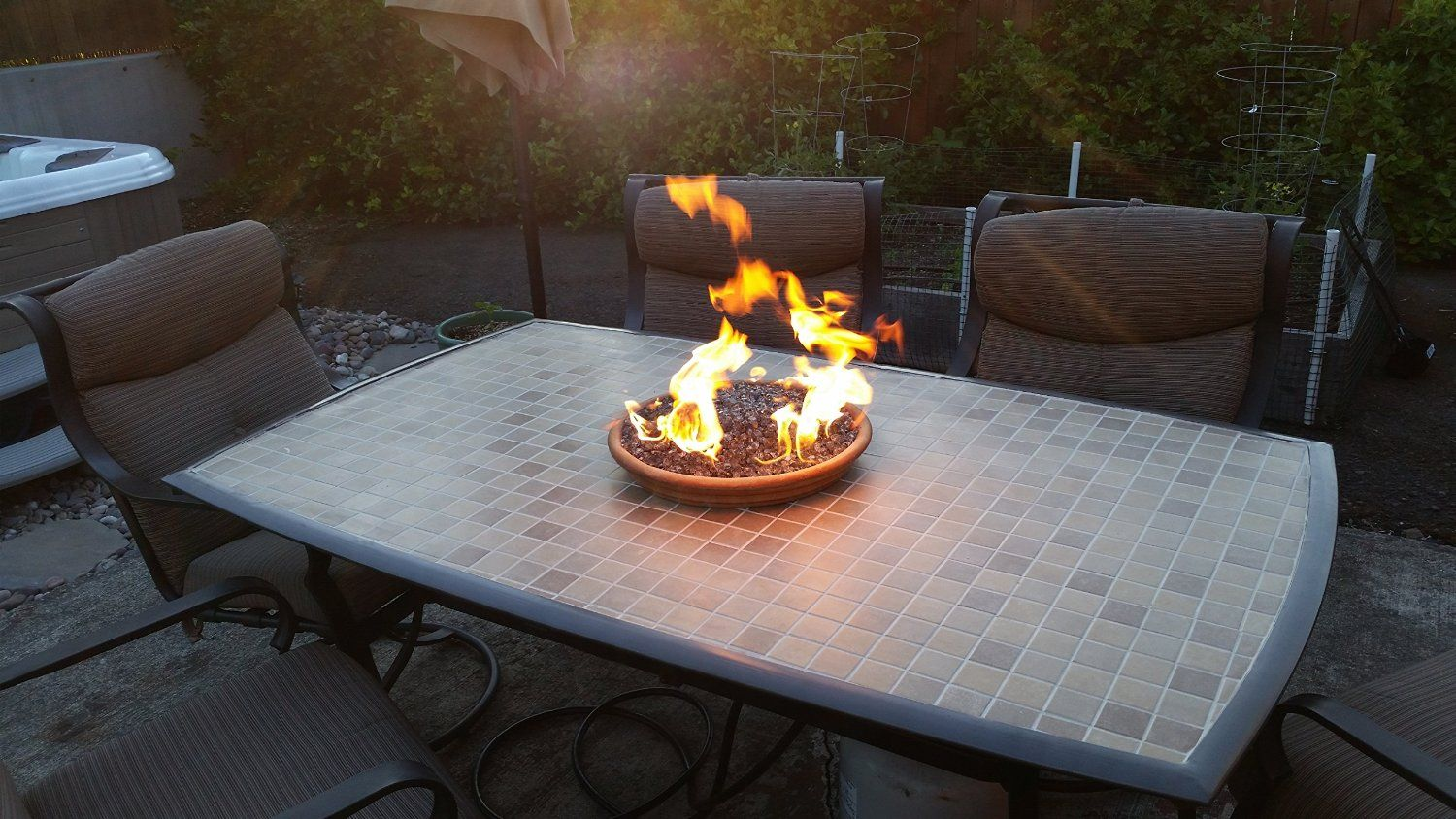 Create/ Convert Your Wood Fire Pit to Propane