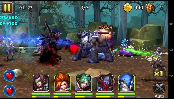 Heroes Blade is a Free 2 play Android, Action RPG (Role-Playing game) Multiplayer Game featuring Epic Bosses, Massive Campaigns, and the Global PvP Battle Arena