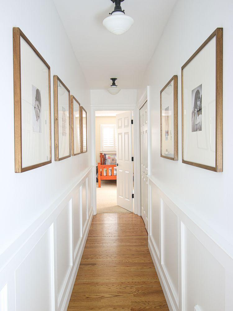 Upstairs Hallway Molding - Continued