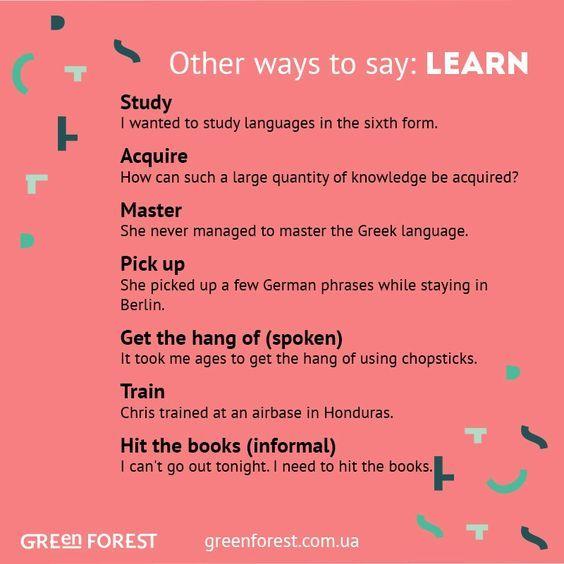 Forum Learn English Fluent Landother Ways To Say Learn Fluent Land English Phrases English Words English Vocabulary Words