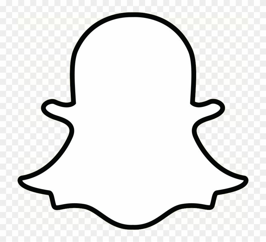 Snapchat Logo Png White Snapchat Logo Snapchat Icon Ghost Logo