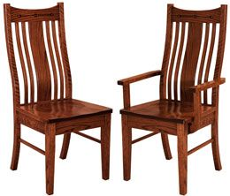 Amish Outlet Store : Aberdeen Chair in Cherry