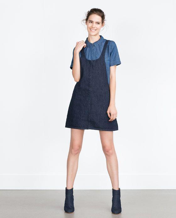 Robe En Essentials Salopette Nouveautés « Zara Jean »Street EIDH9W2Yeb