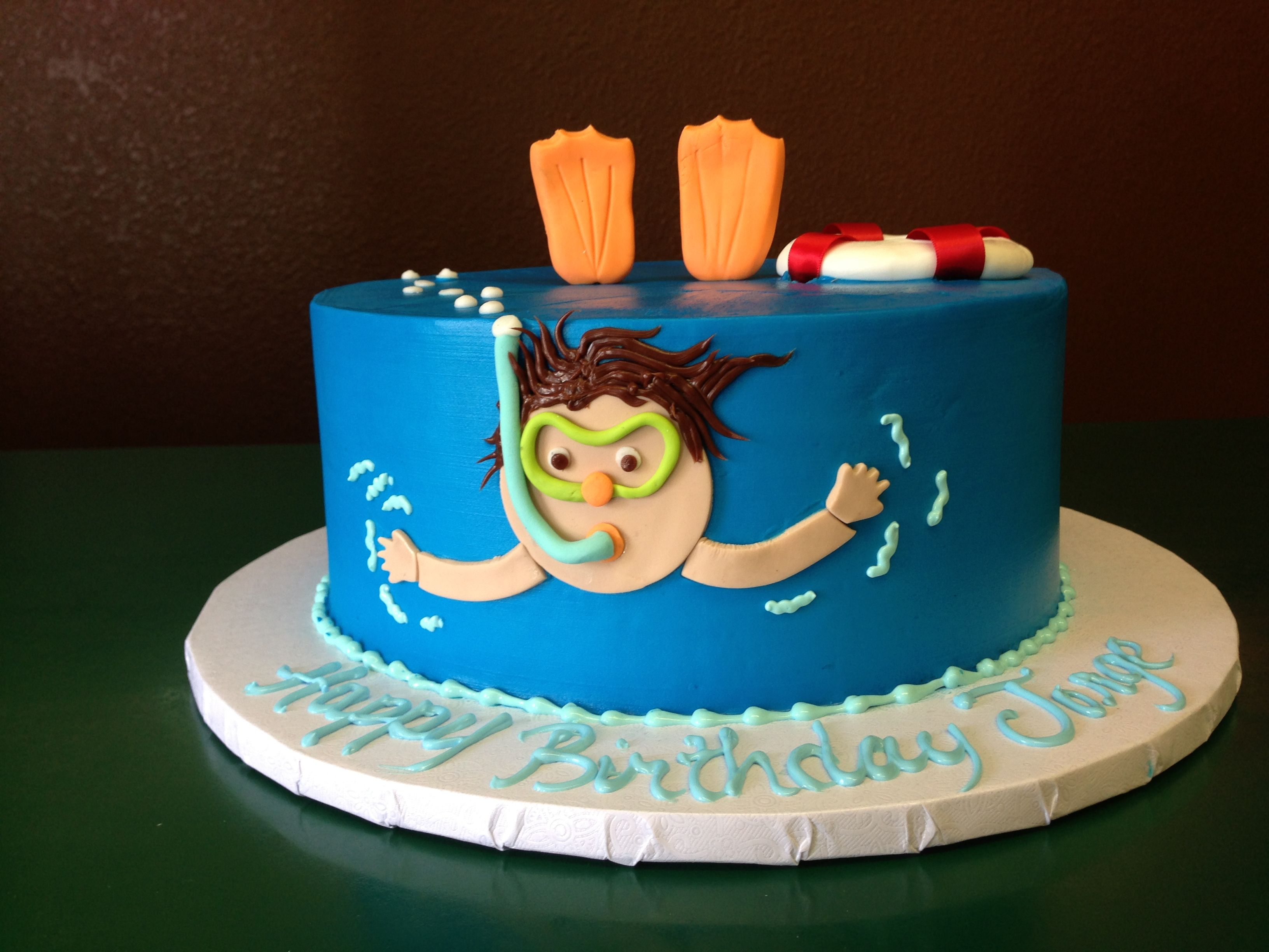 Swimming Cake Cake Designs Las Vegas