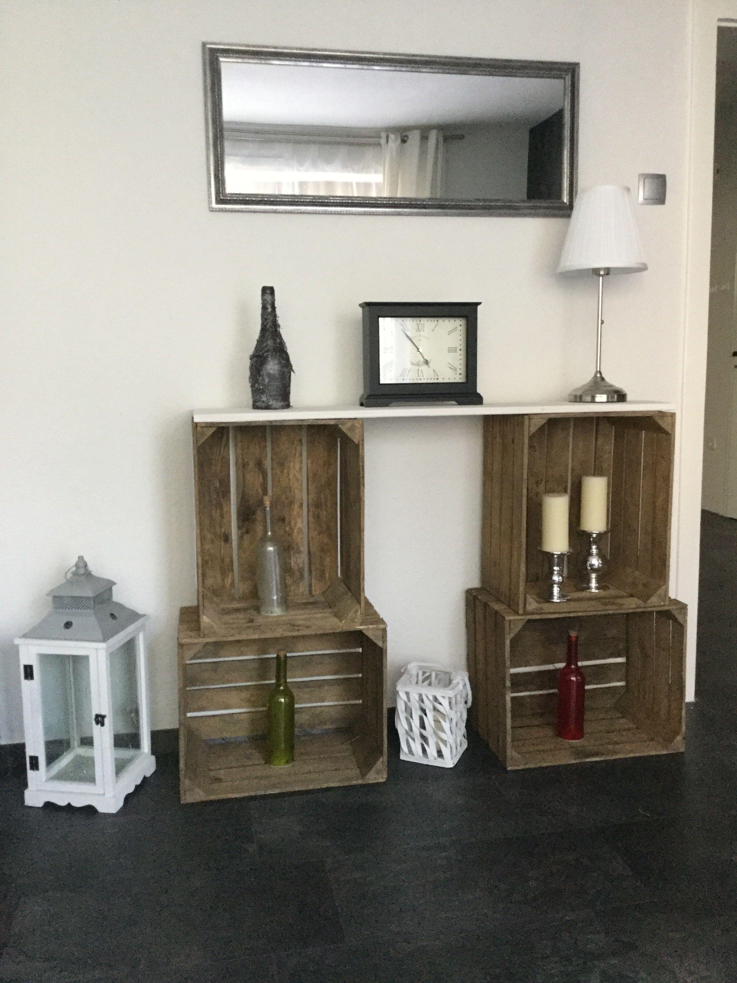 Sideboard aus Weinkisten  Wohnen, Einrichten und wohnen, Möbel