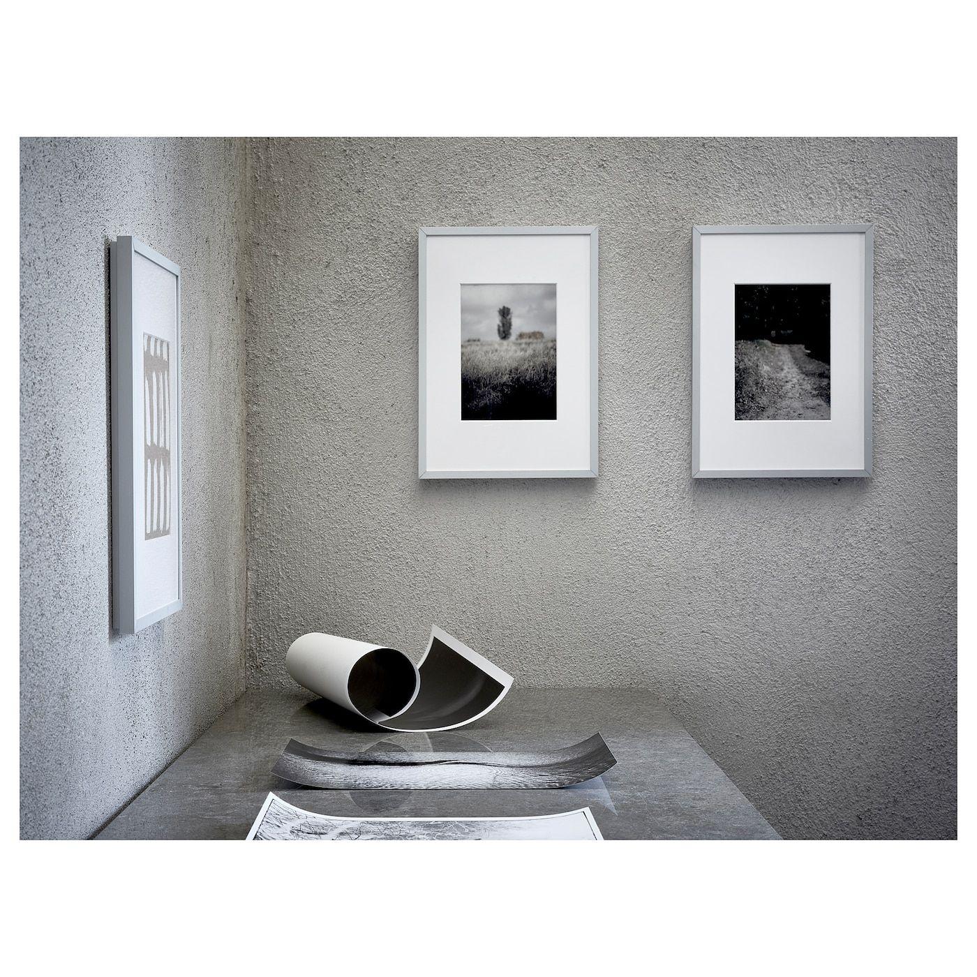Lomviken Frame Aluminum 12 X16 Ikea Frames On Wall Frame