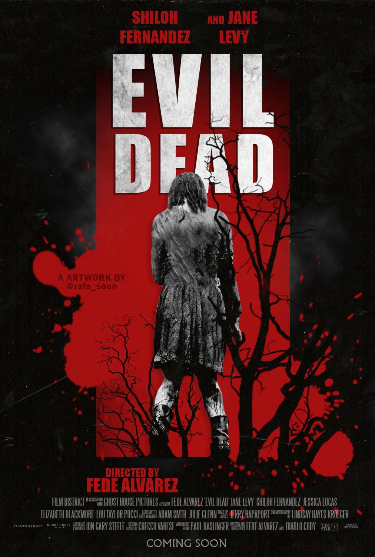 Evil Dead Affiche Halloween Film Horreur Evil Dead