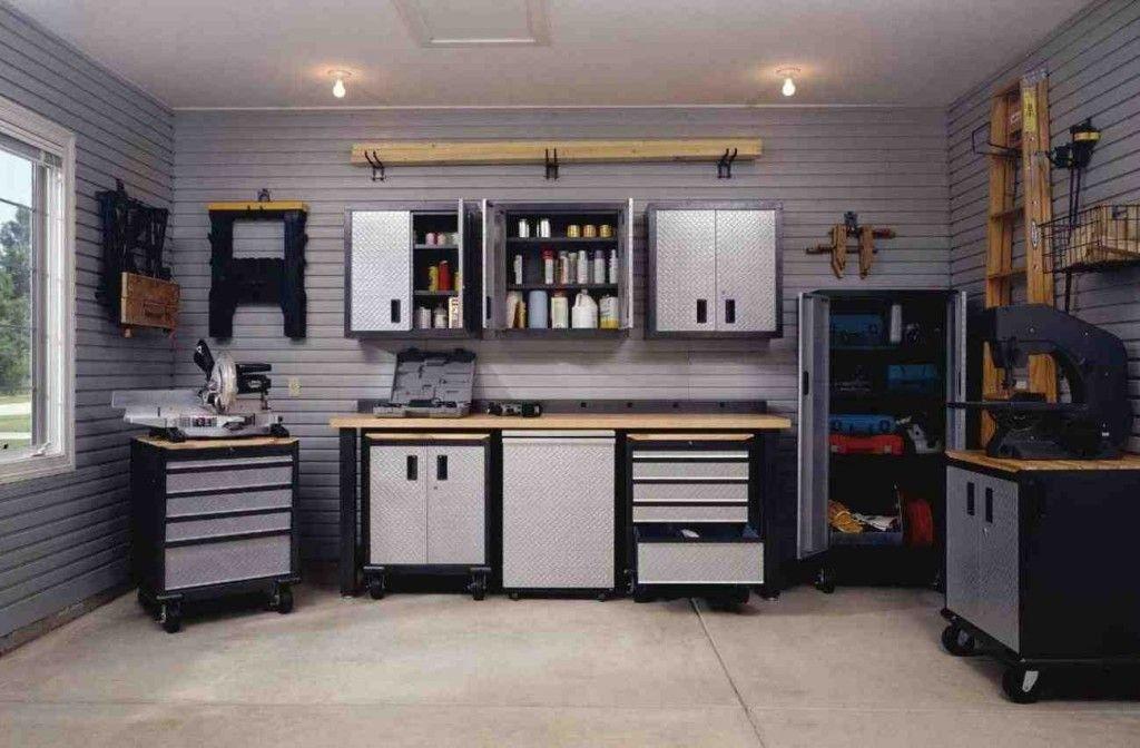 Craftsman Garage Cabinets Garage Design Interior Garage