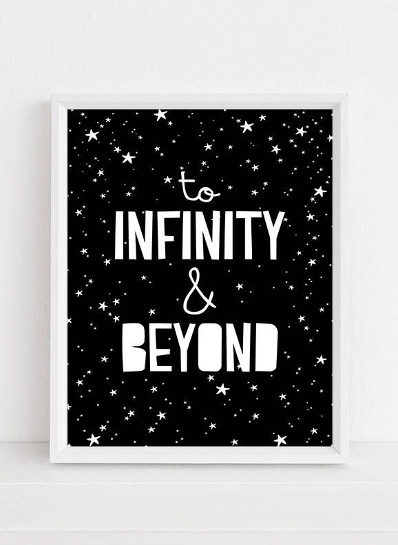 Outstanding To Infinity And Beyond Picture Frame Image - Custom ...