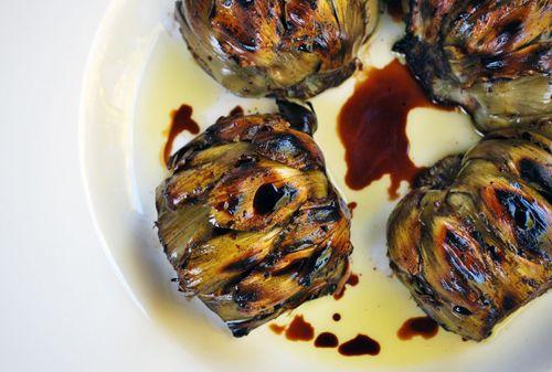 Grilled Balsamic Artichoke