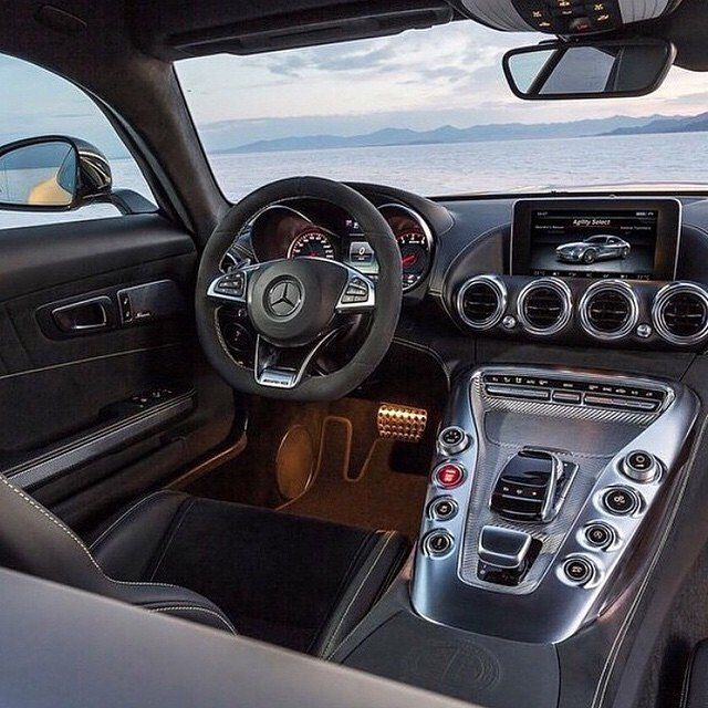 Stunning Mercedes Gts Amg Interior Tag A Benz Lover By