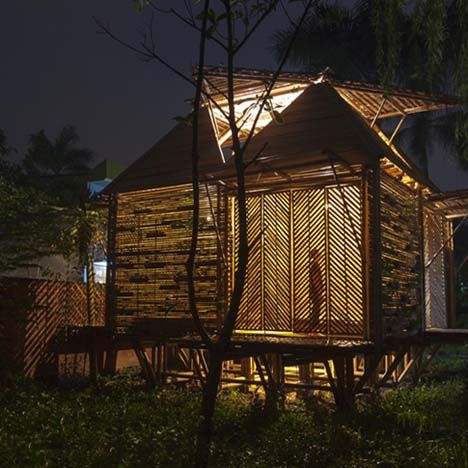 Top 10 Bamboo Architecture Projects Bamboo Architecture Bamboo