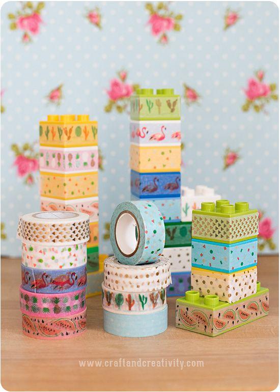 Washitejpat Duplo – LEGO Duplo with washi tape (Craft & Creativity ...