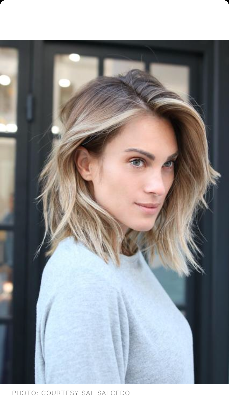 Trend beauty the lob