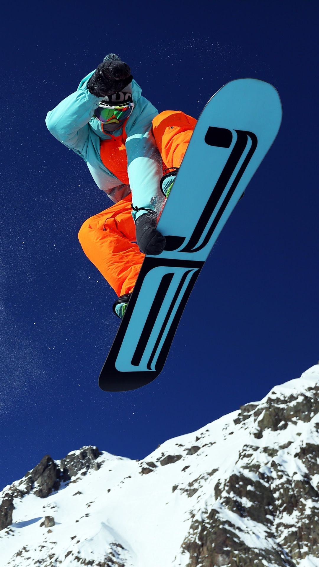 Mountain Skiing Iphone 7 Wallpaper Snowboarding
