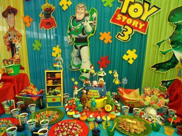 Decoracion toy story para fiestas infantiles fiestas - Decoracion fiesta de cumpleanos infantil ...