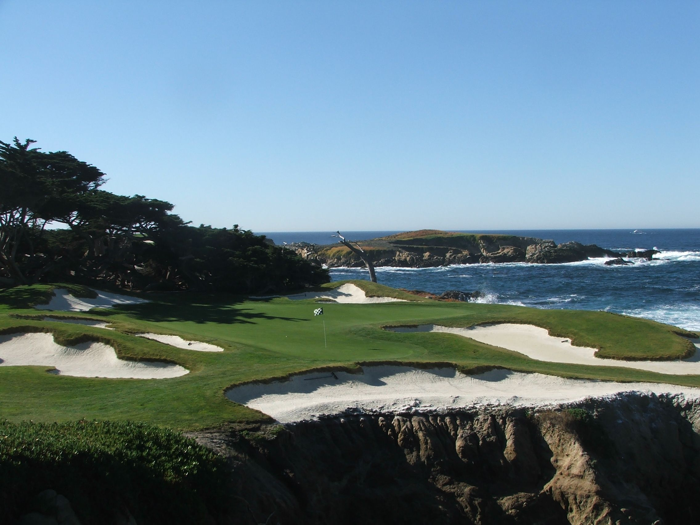 Cypress Point Golf Club Par 3 15th Hole Pebble Beach California