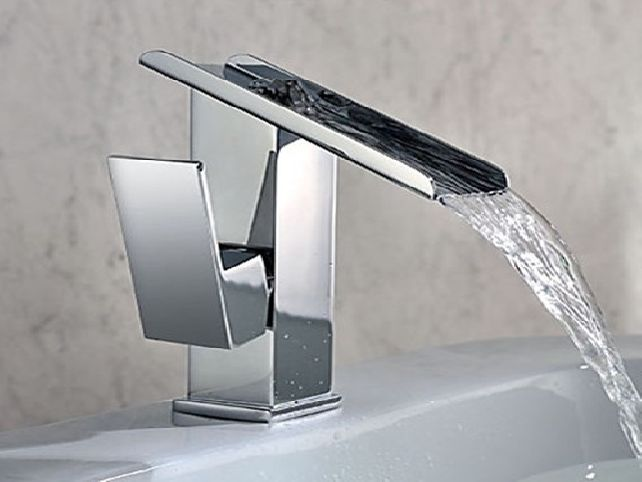 Grohe Bathroom Faucets Httphomedecormodelcomgrohebathroom - Waterfall faucet for bathroom sink for bathroom decor ideas