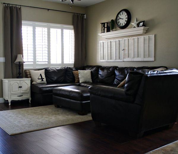 Love The Black Tan And White Front Room Home Home