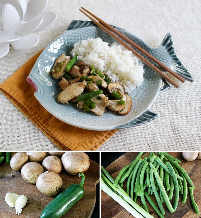 Chicken green bean stir fry chicken green beans green beans and chicken green bean stir fry forumfinder Image collections