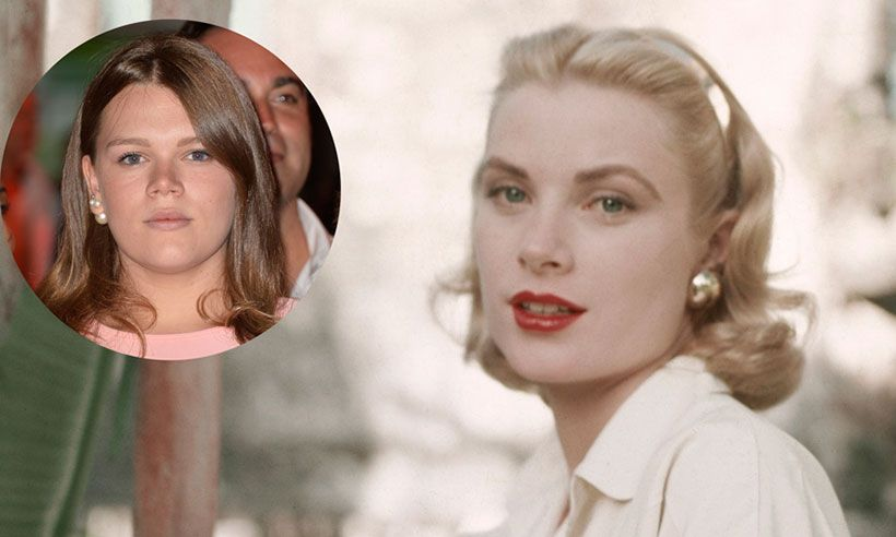 Princess Grace Kellys 19 Year Old Granddaughter Has Style Icon Moment