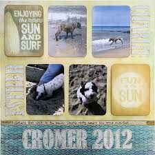 Image result for kaisercraft sandy toes layouts