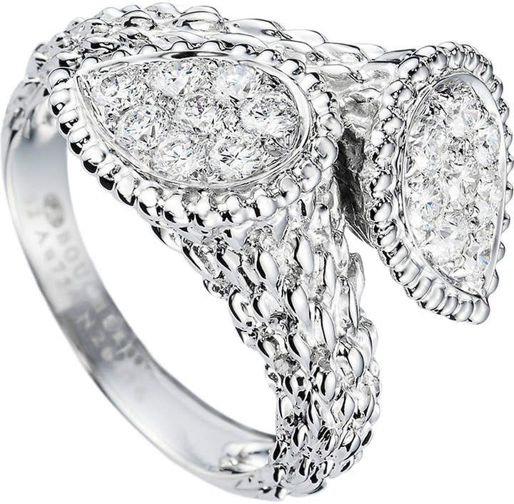 706231e78e8023 Boucheron Serpent Bohème Toi et Moi 18ct yellow-gold and diamond ring