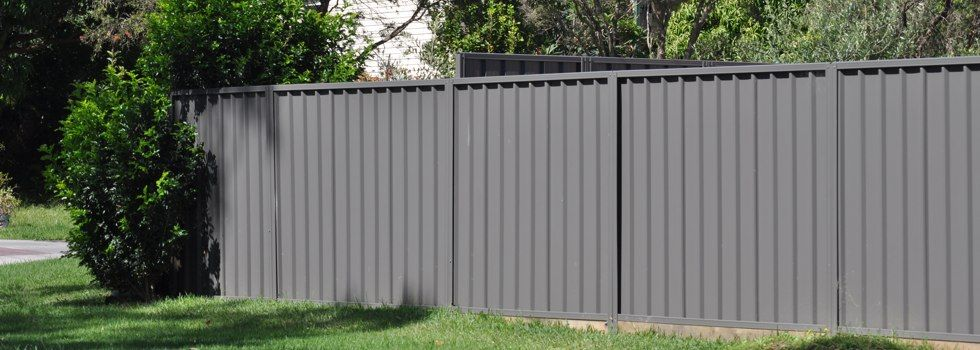 Sheet Metal Fence Panels