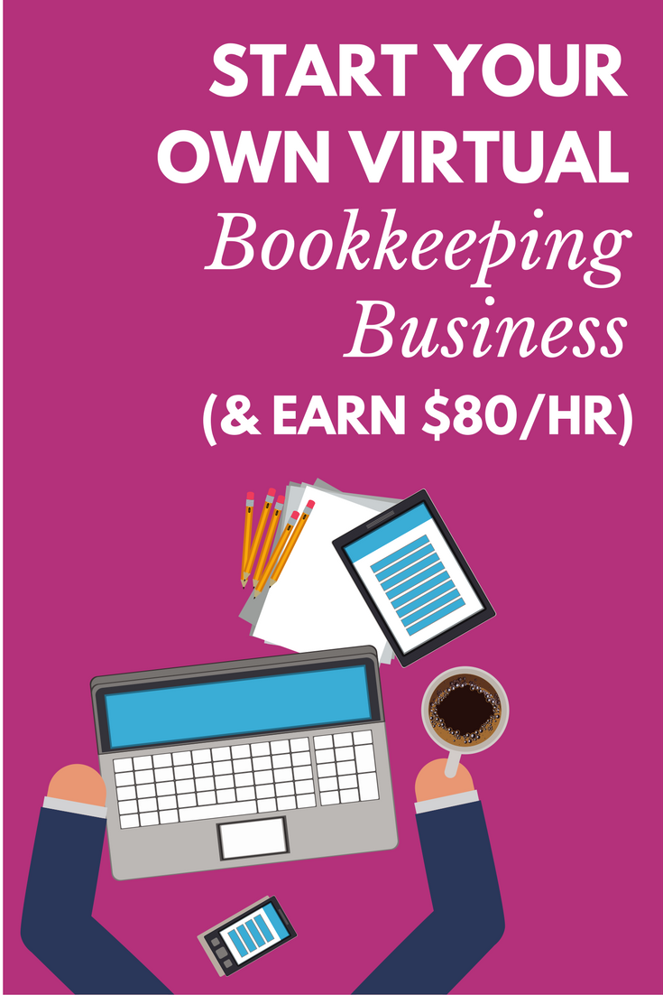 Learn How You Can Start Your Own Virtual Bookkeeping Business Earn 80 Hour Without Going Into Debt It S Possible Even If Have Zero Experience