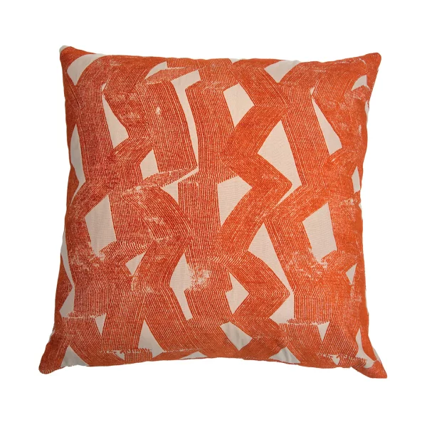 Square Feathers Miami Stroke Feathers Abstract Pillow Perigold Abstract Pillows Pillows Colorful Pillows