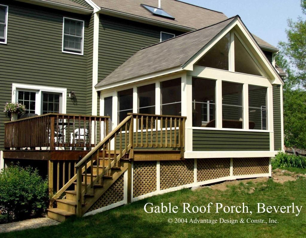 Three season porch designs season porch in beverly ma for Three season porch