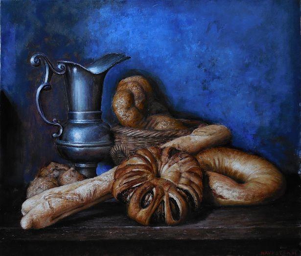 igor navrotskyi, Zátišie s chlebom