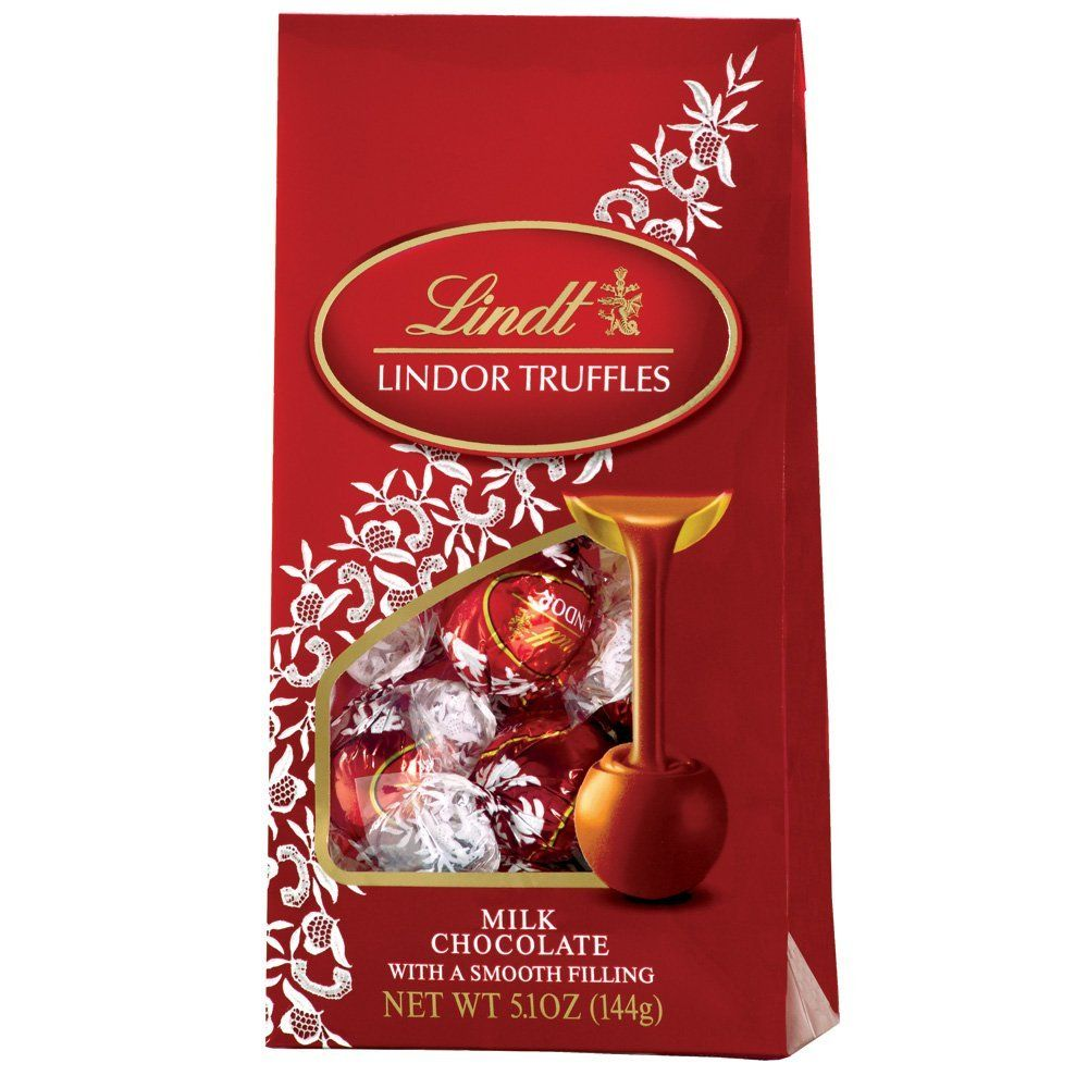 Lindt Lindor Truffles Milk Chocolate Only 5 3 Carbs Each So Good Real Stuff Not Sugarfree But Still Low Carb Lindt Truffles Chocolate Truffles Truffles