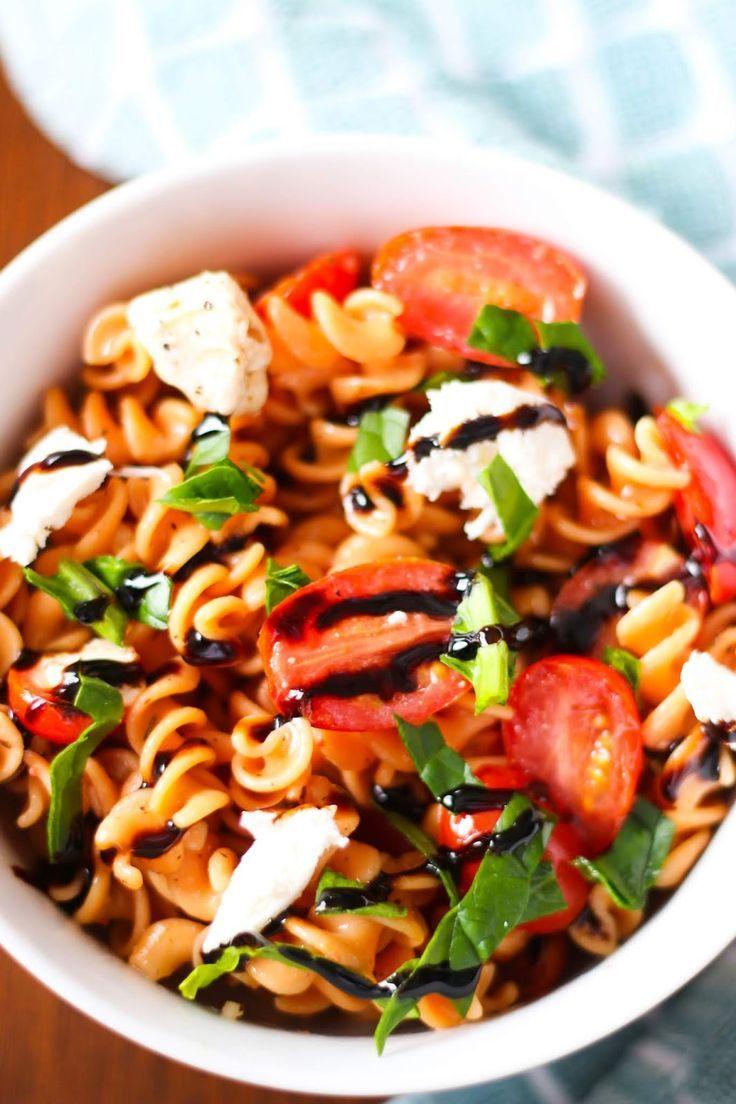Protein Packed Pasta Salad (Gluten Free) Gluten free
