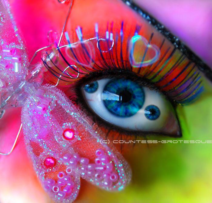looks like a fairy pony eye
