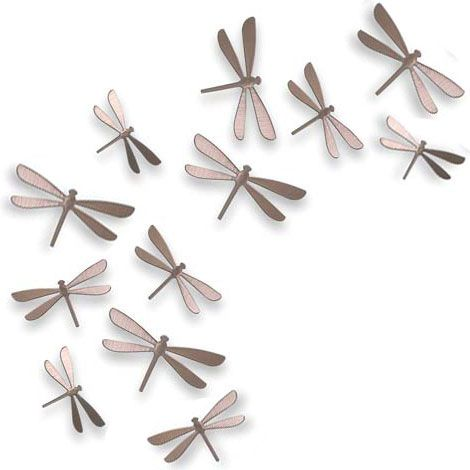 Gentil These Will Be On My Walls Somewhere... Dragonfly DecorMetal Wall ...