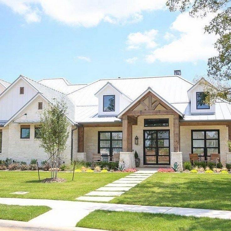 ✔45 beautiful modern farmhouse exterior design ideas 14 images