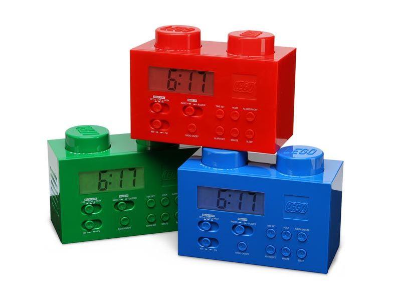 Lego Brick Alarm Clock Instructions   Unique Alarm Clock