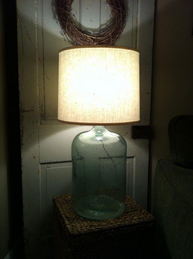 30 Amazing Diy Bottle Lamp Ideas Diy Bottle Lamp Bottle Lamp Diy Lamp