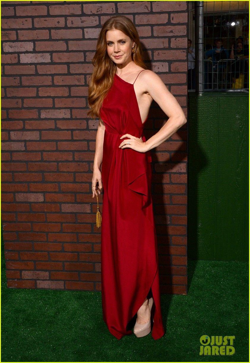 Amy Adams Red Dress Celebrity Red Carpet Amy Adams Style Fashion