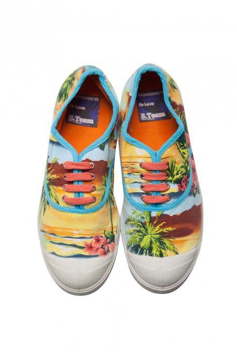 Bensimon hawaï bleu - Bensimon | Bensimon, Shoes, Fashion
