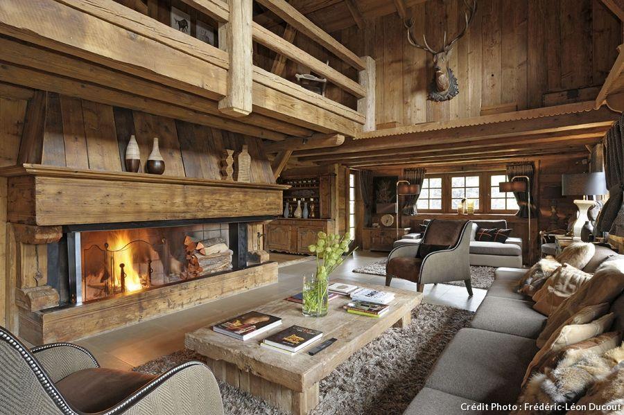 Esprit rustique dans un chalet des Alpes | Innenausbau ...