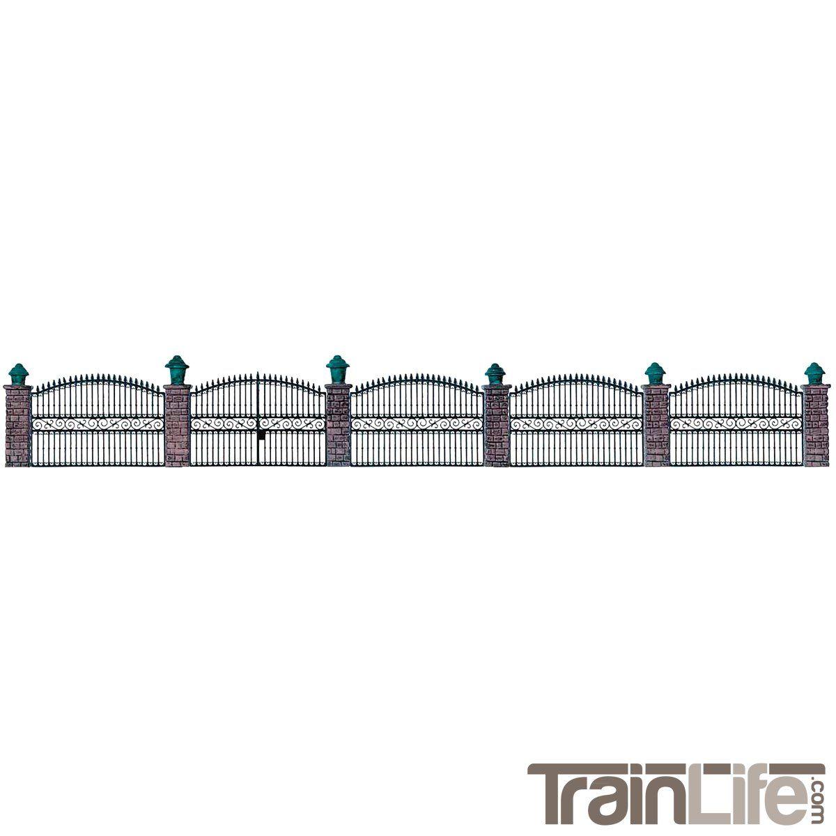 Ho Scale Wrought Iron Fence Kit Wrought Iron Fences Ho Scale
