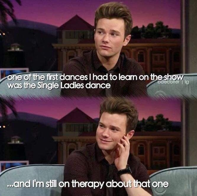 Are You Kidding Thats Why I Continued Watching The Show At First I Just Watched It Because I Was Bored And There Was Not Glee Funny Glee Memes Glee Quotes
