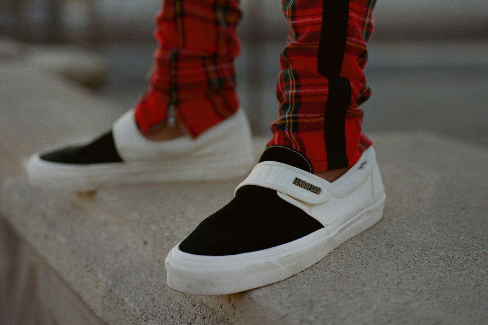 Vans Slip-On fear of God #vans #sneaker