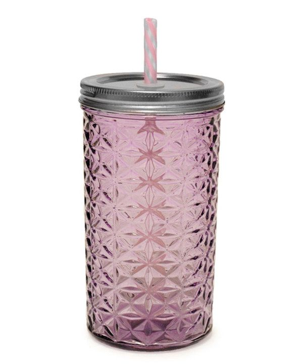 Look What I Found On Zulily Purple 16 Oz Textured Mason