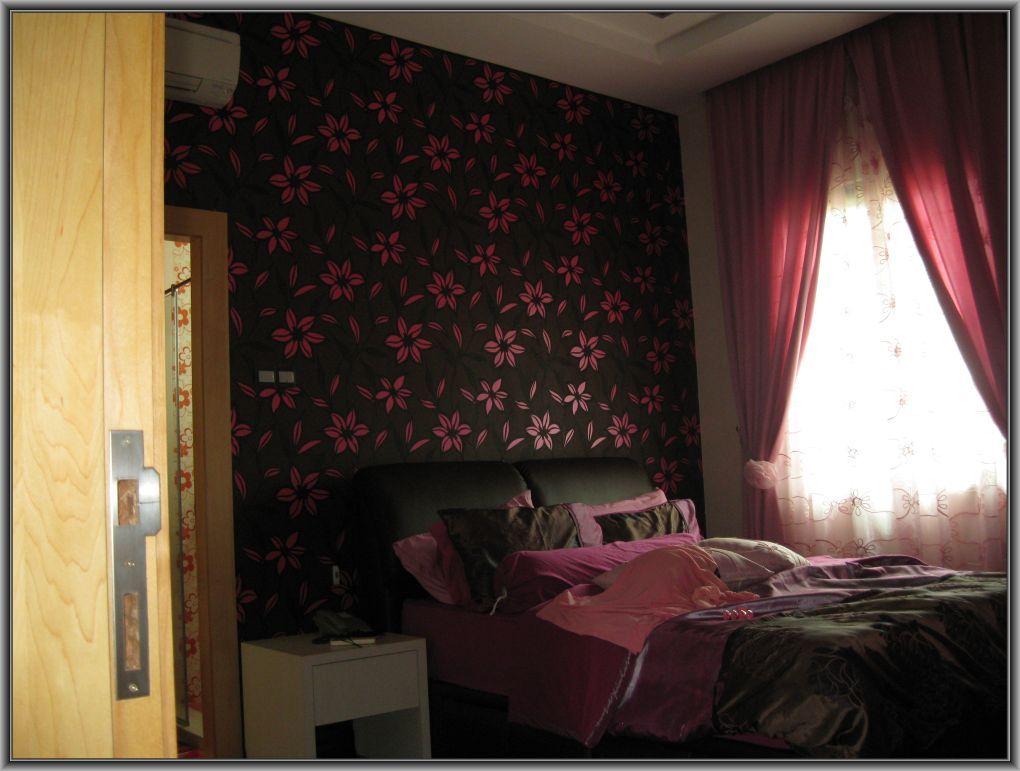 Wallpaper Dinding Ruang Tamu Gelap
