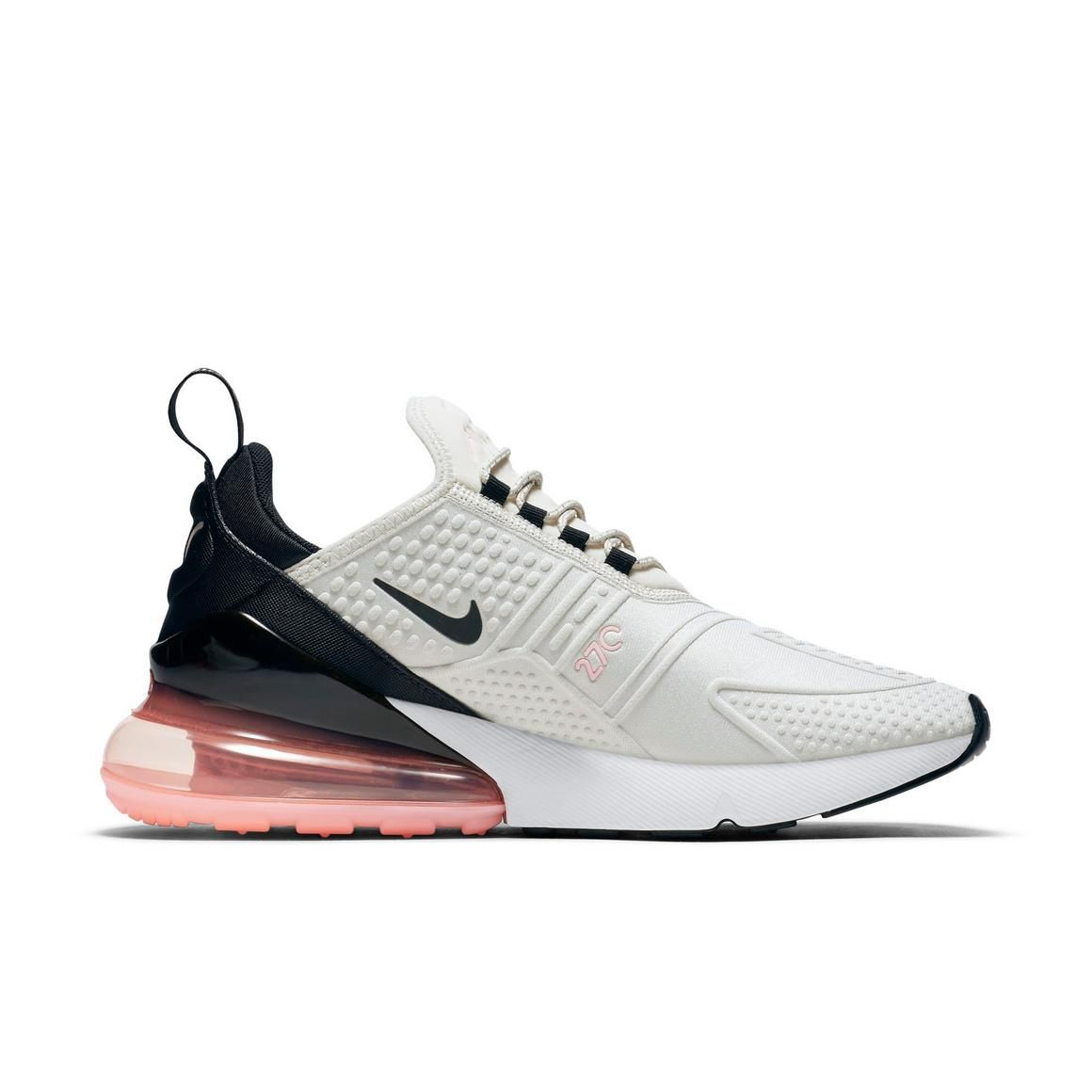 Nike Air Max 270 Trainers In Pink | Pink nike shoes, Cool