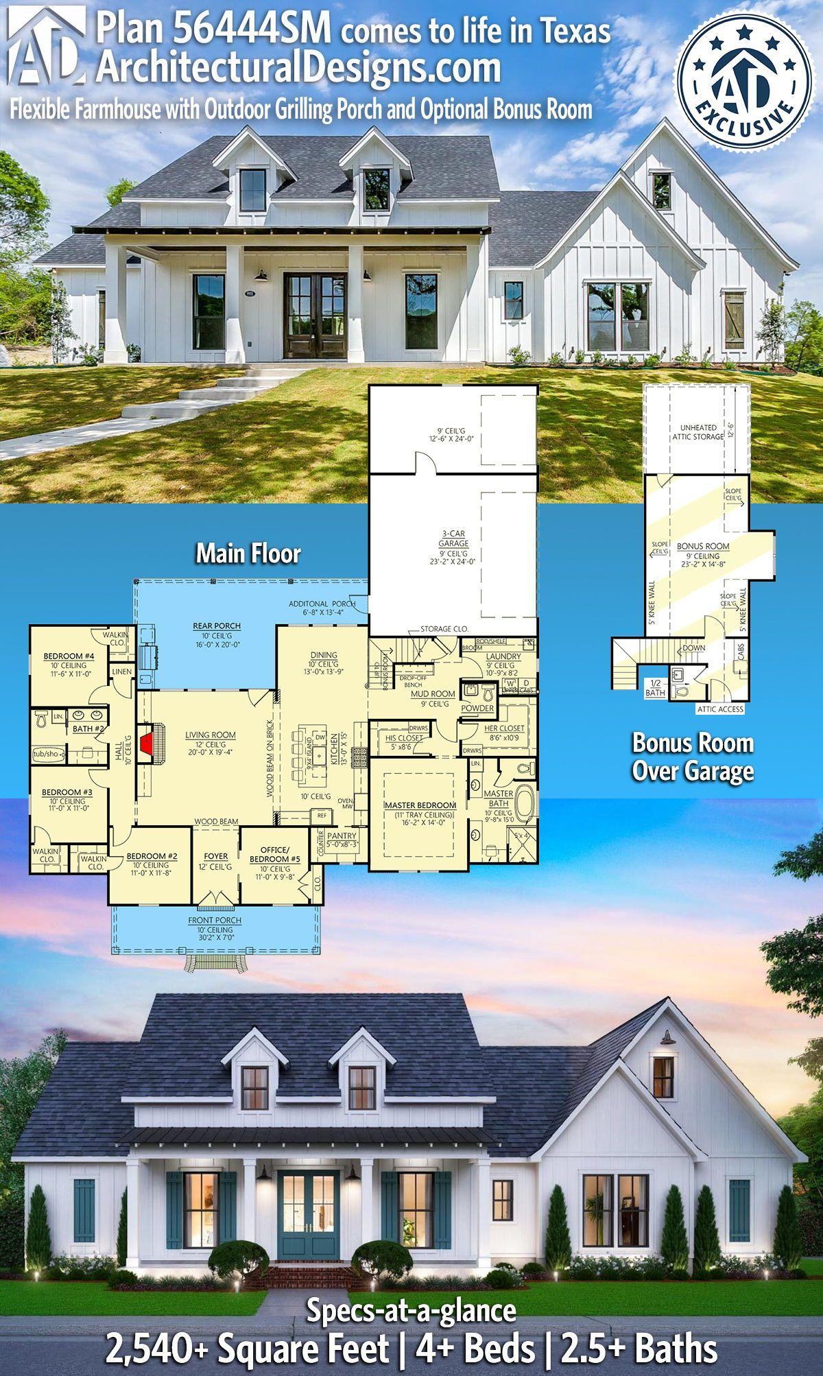 42+ Farmhouse home designs type